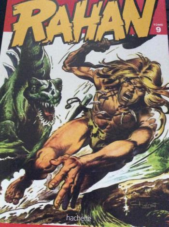 Couverture de l'album Rahan (Hachette) - 9. le monstre d'un autre temps