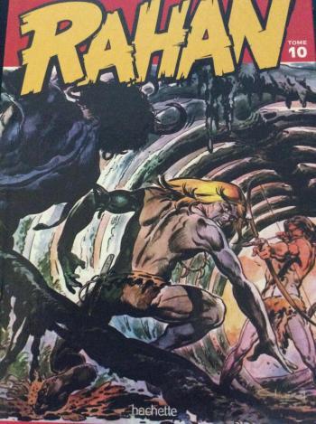 Couverture de l'album Rahan (Hachette) - 10. le lagon de l'effroi