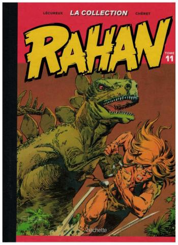 Couverture de l'album Rahan (Hachette) - 11. la falaise d'argile