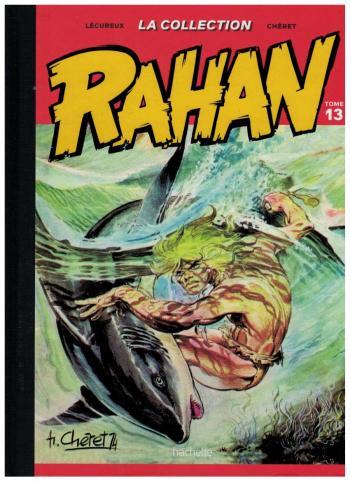 Couverture de l'album Rahan (Hachette) - 13. ceux de la terre-haute