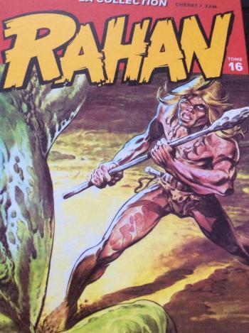 Couverture de l'album Rahan (Hachette) - 16. la bète qui parle