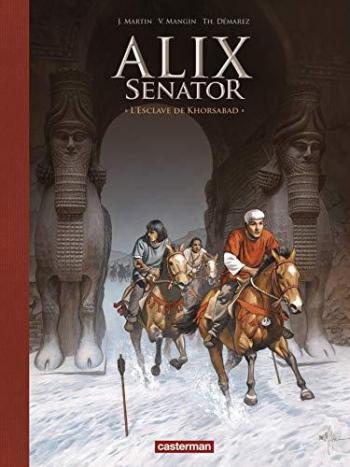 Couverture de l'album Alix Senator - 11. L'Esclave de Khorsabad