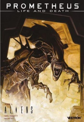 Couverture de l'album Vestron - 31. Prometheus : Life and Death tome 1