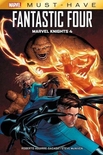 Couverture de l'album Best of Marvel - Must-have - 16. Fantastic Four - Marvel Knights 4