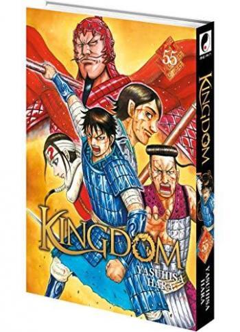 Couverture de l'album Kingdom - 55. Vers un ultime assaut dans les plaines de Shukai ?