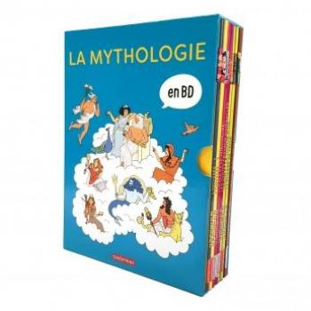 Couverture de l'album La Mythologie en BD - COF. Coffret La Mythologie en BD