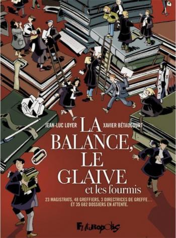Couverture de l'album La balance, le glaive et les fourmis (One-shot)