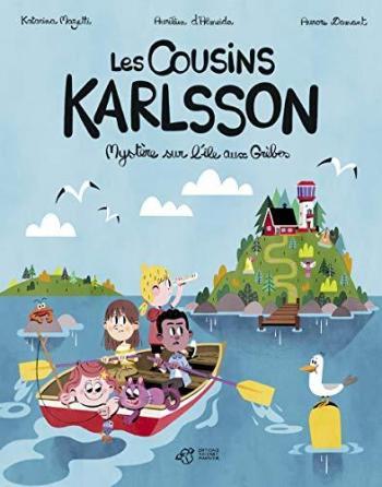 Couverture de l'album Les cousins Karlsson - 1. Mystère sur l'île aux Grèbes