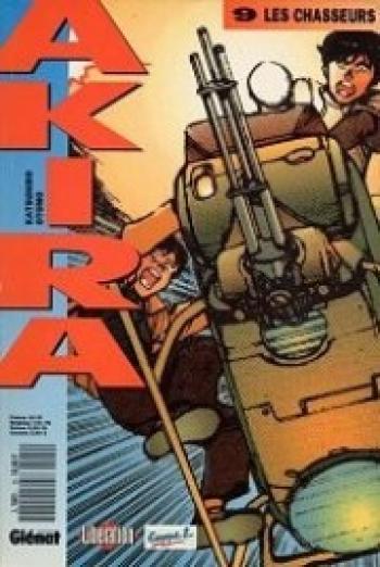 Couverture de l'album Akira (Kiosque) - 9. Les chasseurs