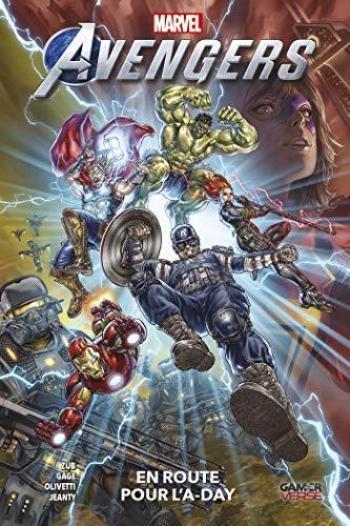 Couverture de l'album Marvel's Avengers Videogame - 1. En route pour l'A-Day