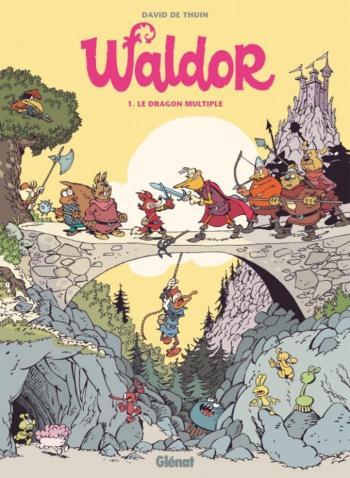 Couverture de l'album Waldor - 1. Le Dragon multiple