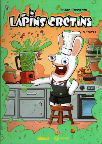 Couverture de l'album The lapins crétins - 13. Toqués !