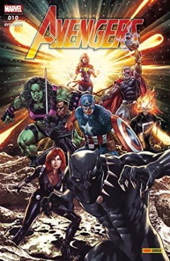 Couverture de l'album Avengers (V7, Fascicules) - 10. Nativité stellaire