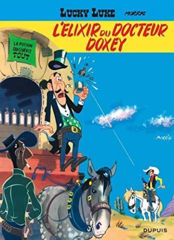 Couverture de l'album Lucky Luke - 7. L'Elixir du docteur Doxey