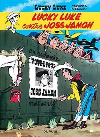 Couverture de l'album Lucky Luke - 11. Lucky Luke contre Joss Jamon