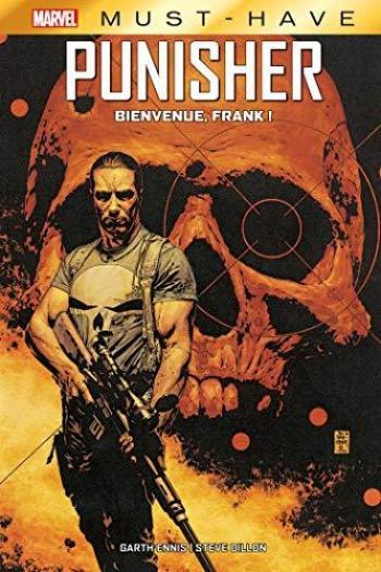 Couverture de l'album Best of Marvel - Must-have - 17. Punisher : Bienvenue, Frank !