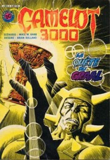 Couverture de l'album Camelot 3000 - 4. La Quête du Graal