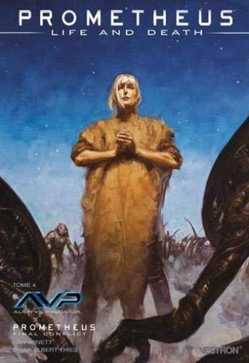 Couverture de l'album Vestron - 32. Prometheus : Life and Death tome 4