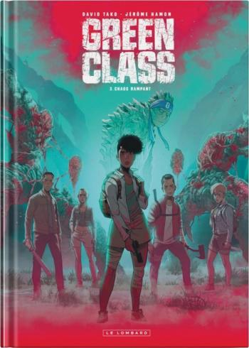 Couverture de l'album Green Class - 3. Chaos rampant