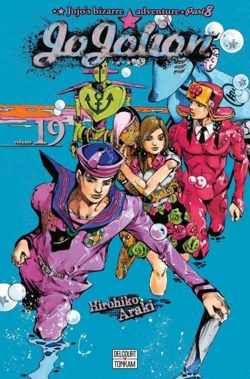 Couverture de l'album Jojo's Bizarre Adventure - Saison 8 - Jojolion - 19. Tomoki Wu, chirurgien esthétique