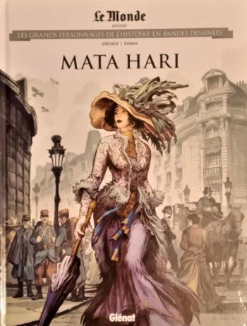Couverture de l'album Les Grands Personnages de l'Histoire en BD - 51. Mata Hari
