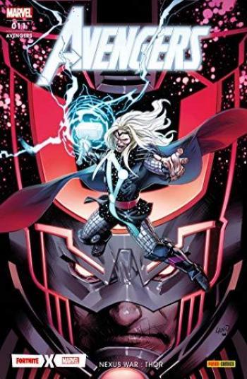 Couverture de l'album Avengers (V7, Fascicules) - 11. Nexus war : Thor