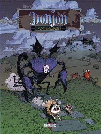 Couverture de l'album Donjon Antipodes - -9999. L'Inquisiteur mégalomane