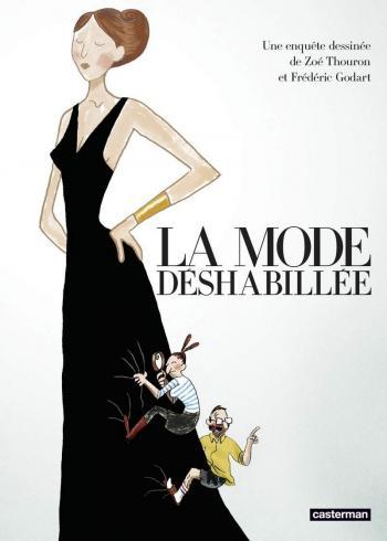 Couverture de l'album La Mode déshabillée (One-shot)
