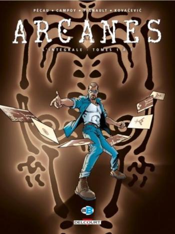Couverture de l'album Arcanes - INT. L'intégrale tomes 1 à 5