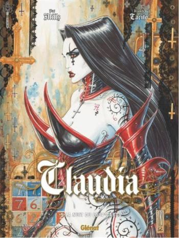 Couverture de l'album Claudia, chevalier vampire - 5. La nuit du loup-garou