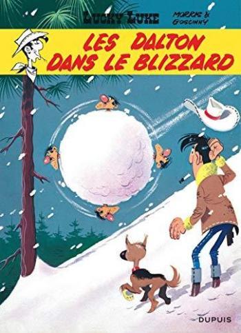 Couverture de l'album Lucky Luke - 22. Les Dalton dans le blizzard