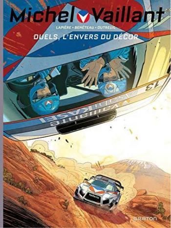 Couverture de l'album Michel Vaillant - Saison 2 - 9. Duels, L'envers du Décor