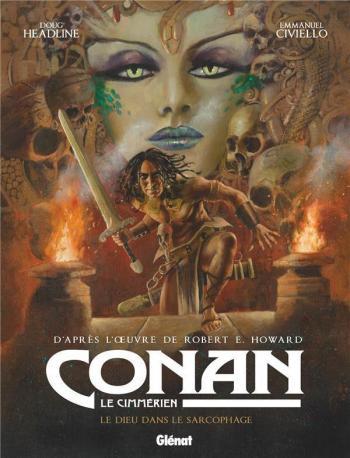 Couverture de l'album Conan le Cimmérien - 11. Le dieu dans le sarcophage