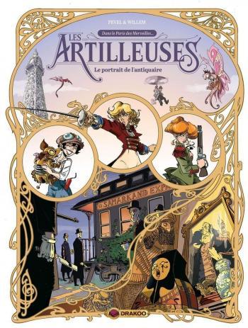 Couverture de l'album Les artilleuses - 2. Le portrait de l'antiquaire