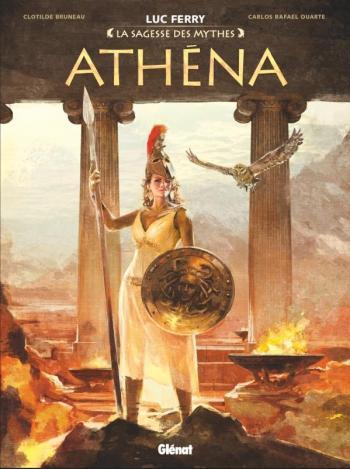 Couverture de l'album Athéna (La sagesse des mythes) (One-shot)