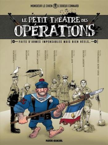 Couverture de l'album Le petit théâtre des opérations (One-shot)