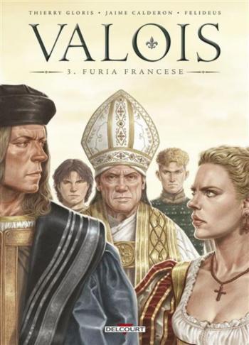 Couverture de l'album Valois - 3. Furia Francese