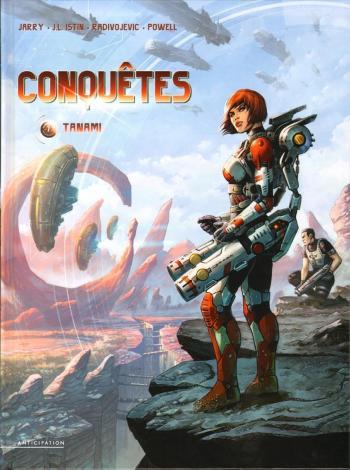 Couverture de l'album Conquêtes - 7. Tanami