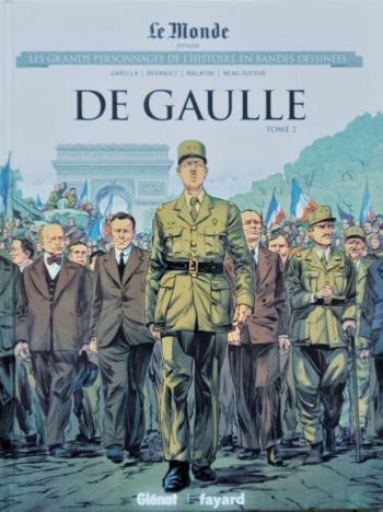 Couverture de l'album Les Grands Personnages de l'Histoire en BD - 53. De Gaulle - Tome 2