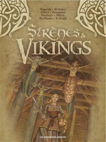 Couverture de l'album Sirènes et vikings - COF. Coffret Tomes 1 à 4