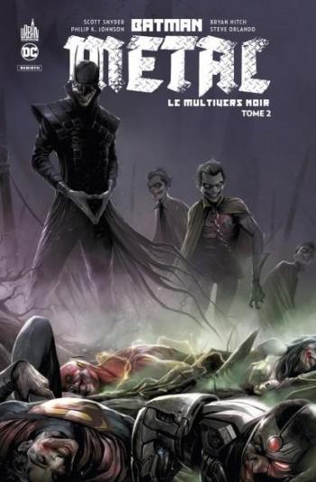 Couverture de l'album Batman Métal: le Multivers Noir - 2. Tome 2