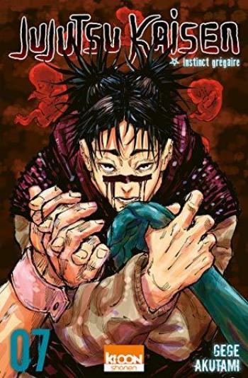 Couverture de l'album Jujutsu Kaisen - 7. Instinct grégaire