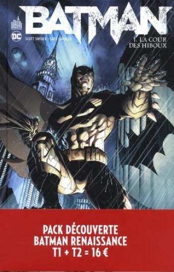 Couverture de l'album Batman (DC Renaissance) - COF. Pack découverte Batman Renaissance