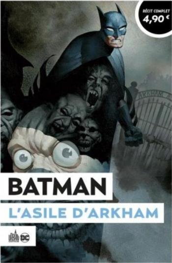 Couverture de l'album Le Meilleur de DC Comics (Opération Été 2021) - 4. Batman - Asile d'Arkham