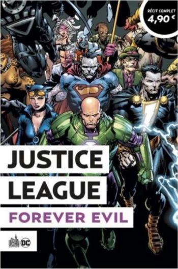 Couverture de l'album Le Meilleur de DC Comics (Opération Été 2021) - 8. Justice League - Forever Evil