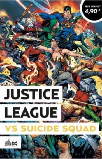 Couverture de l'album Le Meilleur de DC Comics (Opération Été 2021) - 10. Justice League vs Suicide Squad