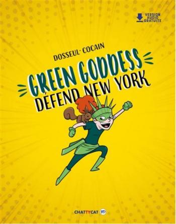 Couverture de l'album Green Goddess défend New York (One-shot)