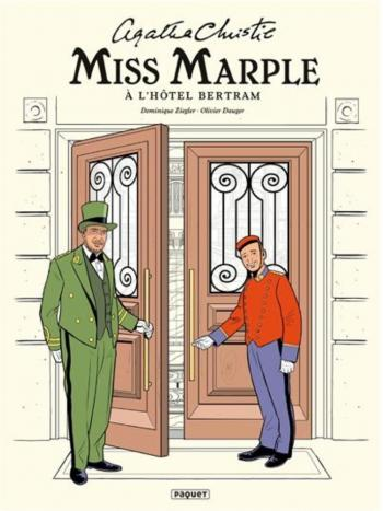 Couverture de l'album Miss Marple - 2. Miss Marple à l'hôtel Bertram