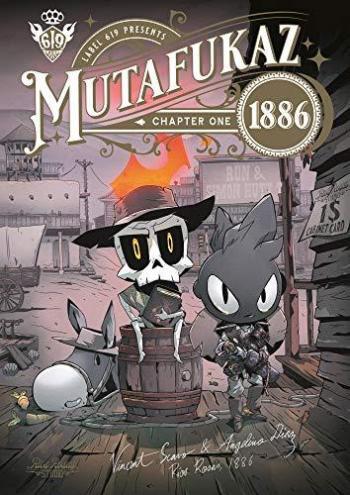 Couverture de l'album Mutafukaz 1886 - 1. Mutafukaz 1886