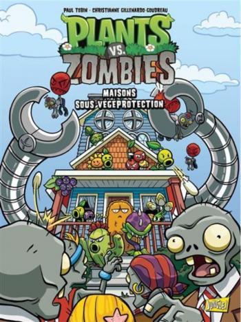 Couverture de l'album Plants vs. Zombies - 15. Maisons sous végéprotection
